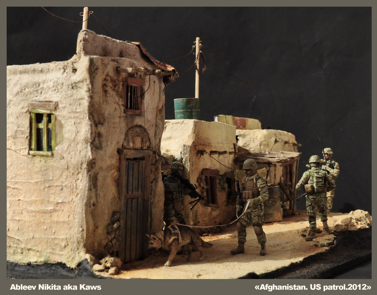 Dioramas and Vignettes: Patrol in Afghan province, 2012, photo #2