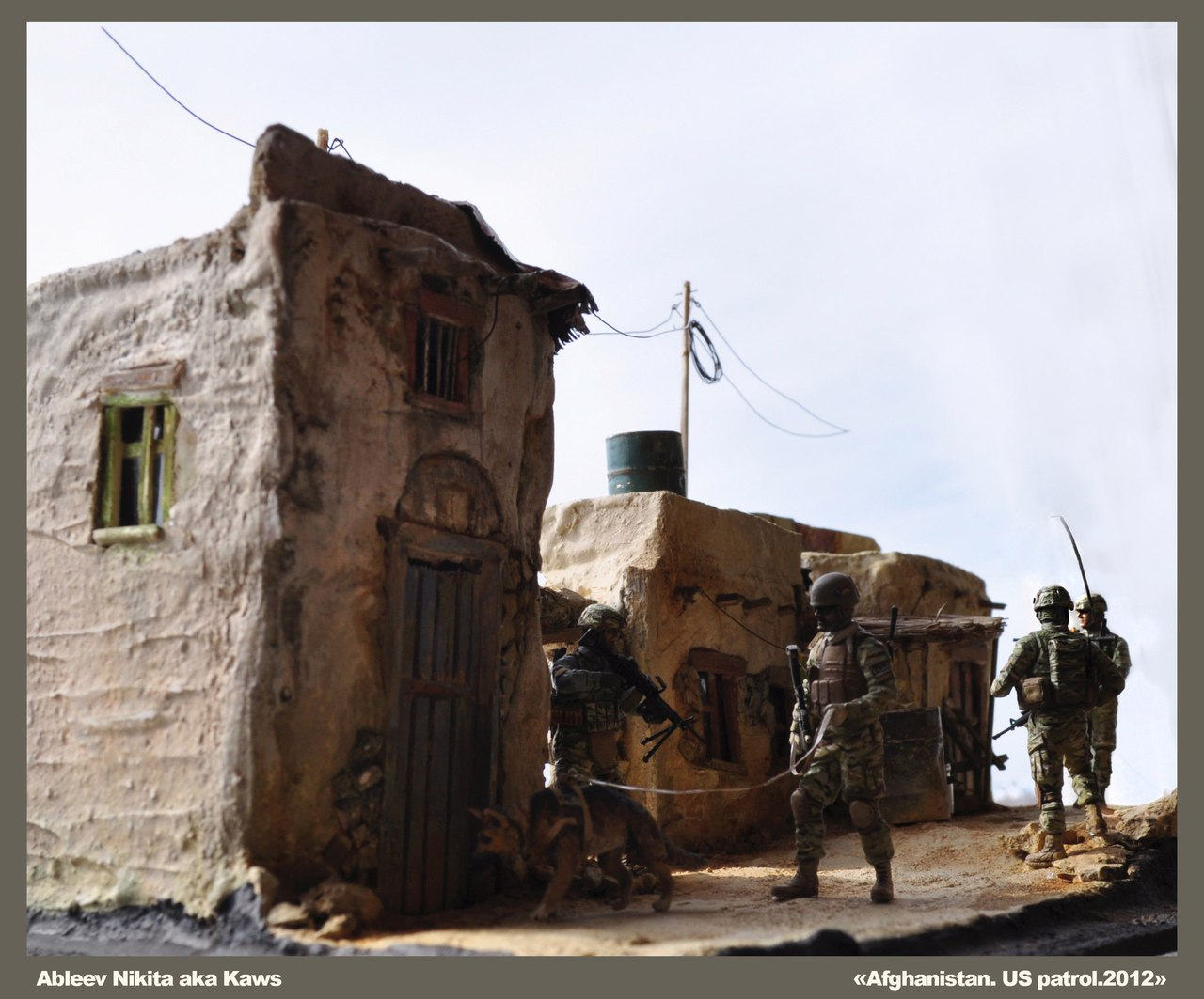 Dioramas and Vignettes: Patrol in Afghan province, 2012, photo #3