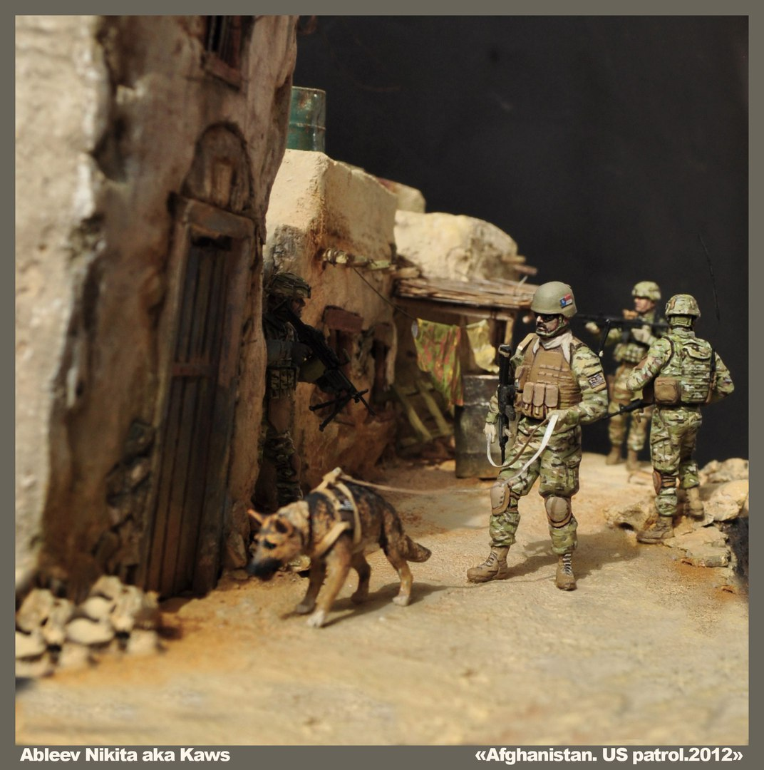 Dioramas and Vignettes: Patrol in Afghan province, 2012, photo #4