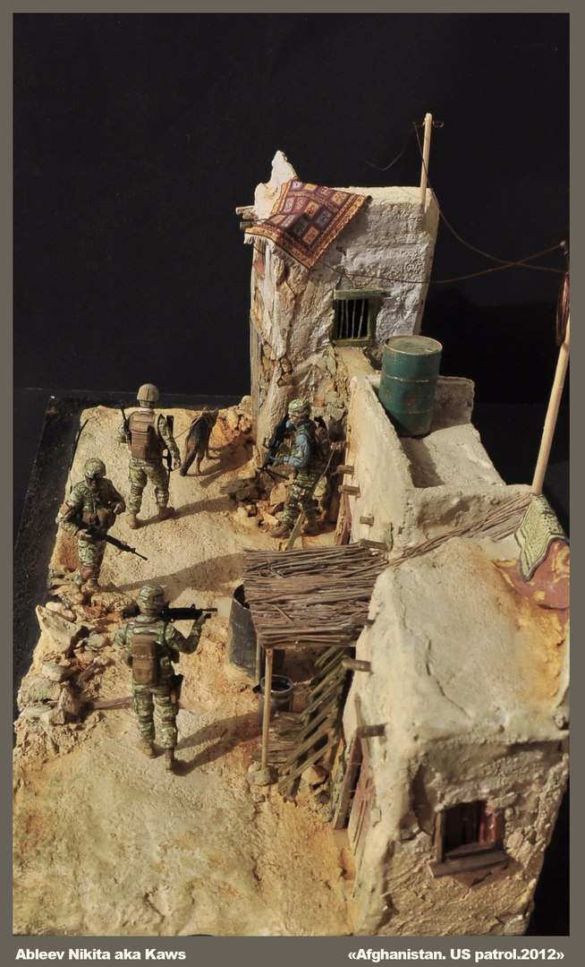 Dioramas and Vignettes: Patrol in Afghan province, 2012, photo #5