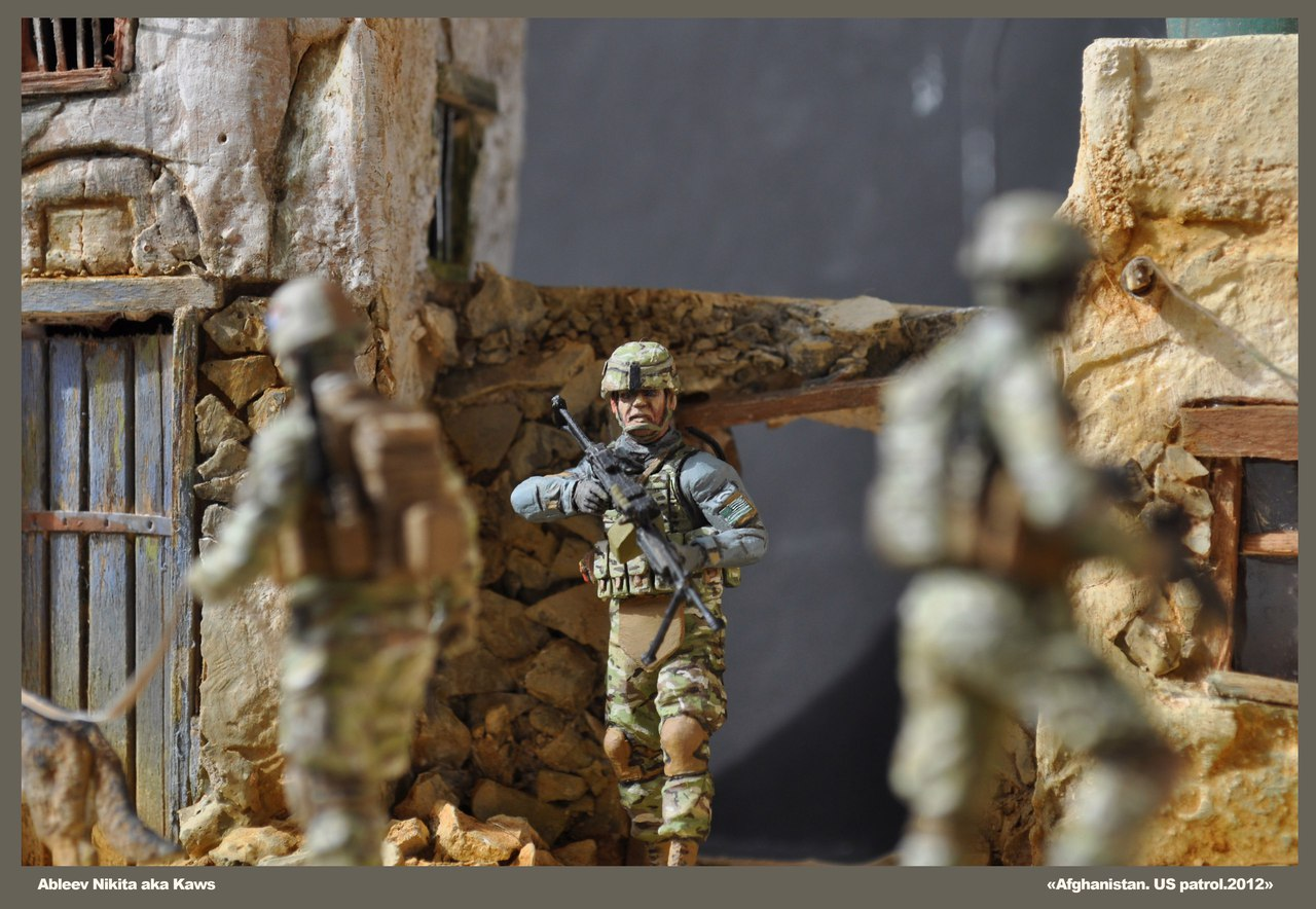 Dioramas and Vignettes: Patrol in Afghan province, 2012, photo #7