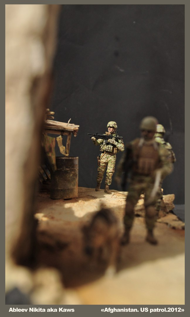 Dioramas and Vignettes: Patrol in Afghan province, 2012, photo #8