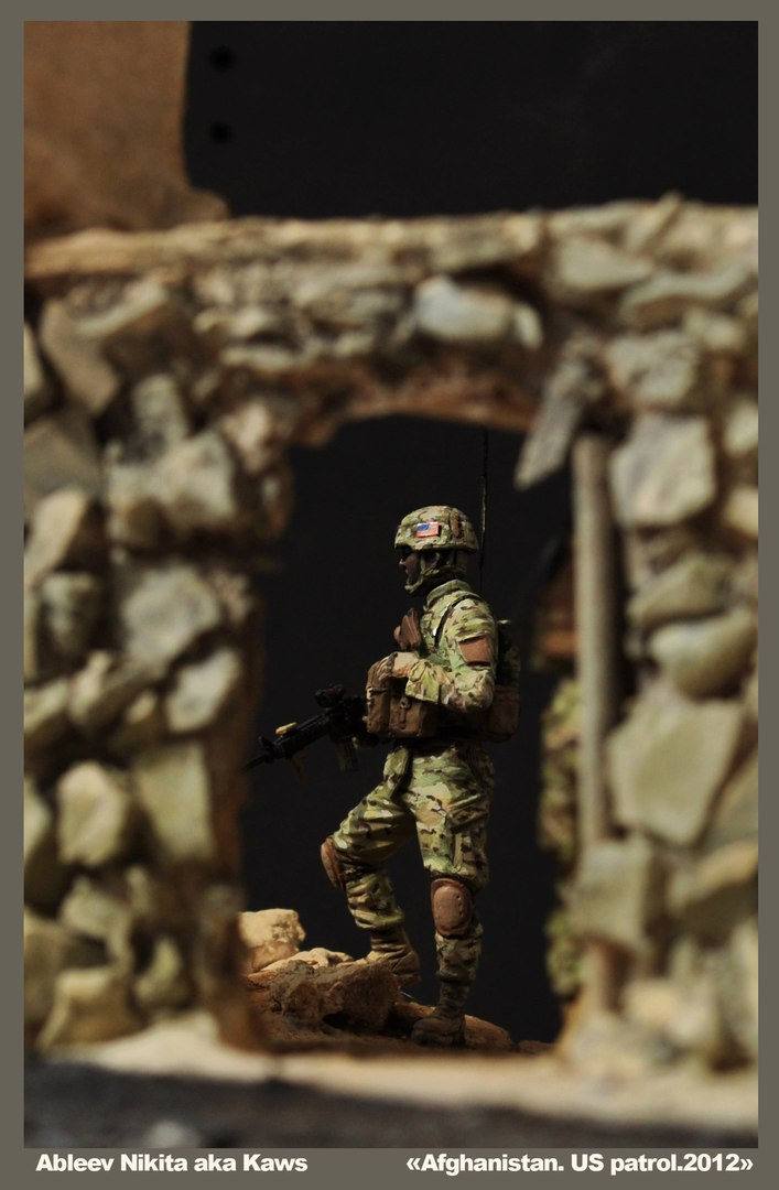Dioramas and Vignettes: Patrol in Afghan province, 2012, photo #9