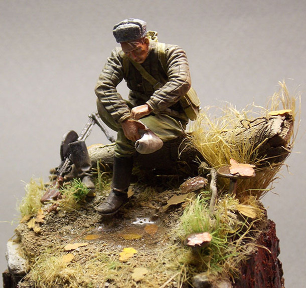 Dioramas and Vignettes: Minute of rest