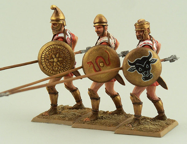 Figures: Macedonian Warriors