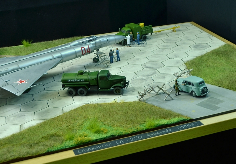 Dioramas and Vignettes: Lavochkin La-250 Anaconda, photo #2