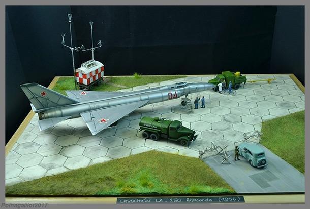 Dioramas and Vignettes: Lavochkin La-250 Anaconda