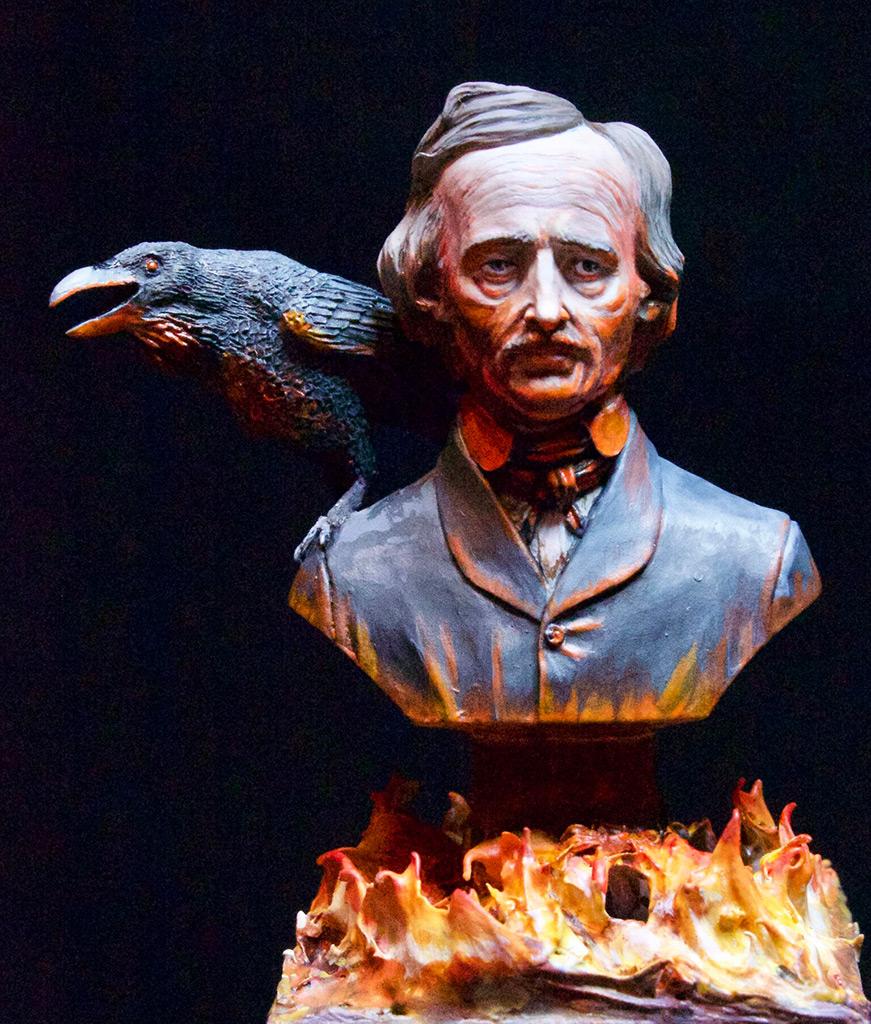 Figures: Edgar Allan Poe, photo #1