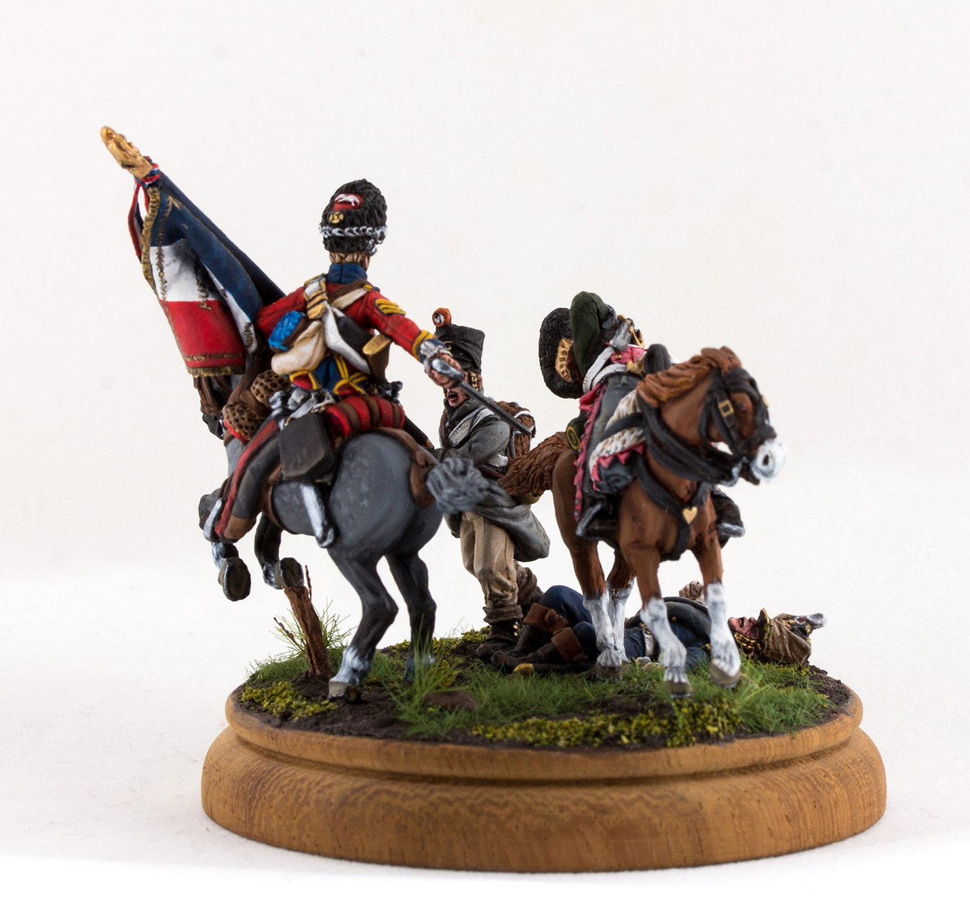 Figures: Capture of 45th line regt. standard at Waterloo, photo #5
