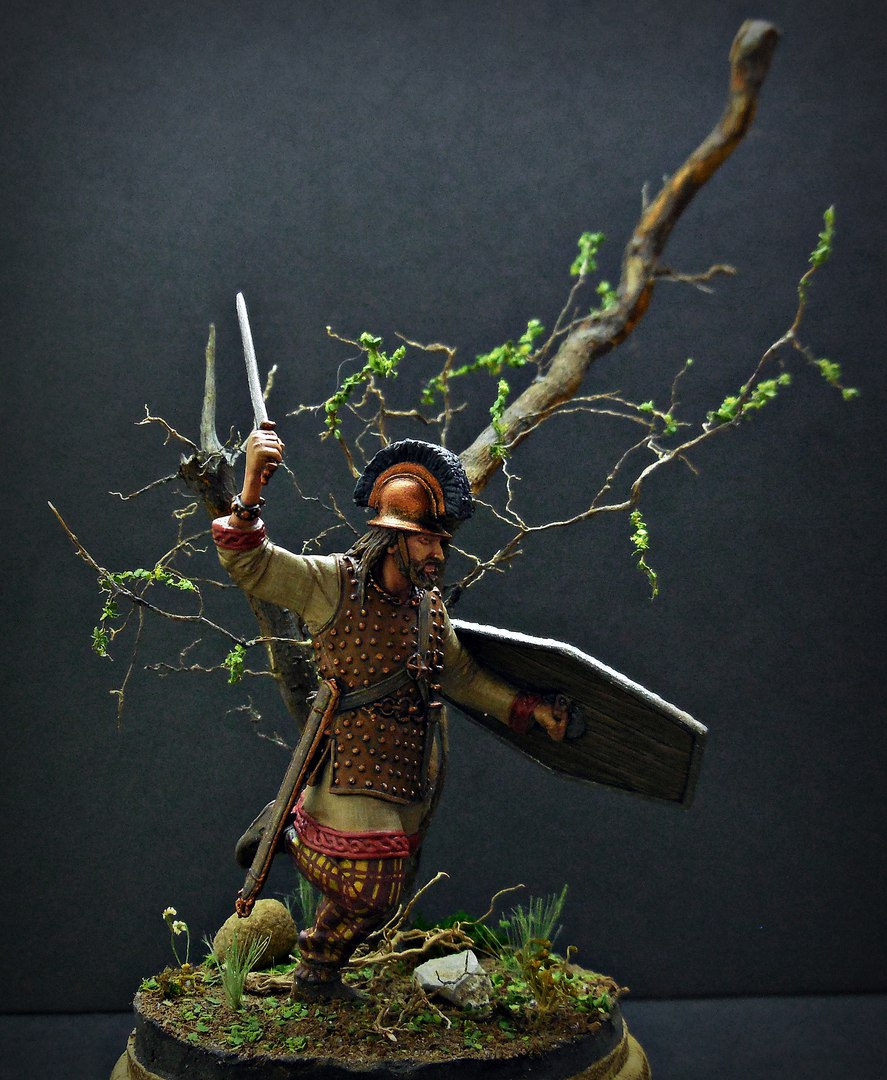 Figures: Gallic warrior I A.D., photo #1