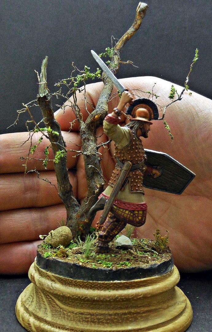 Figures: Gallic warrior I A.D., photo #10