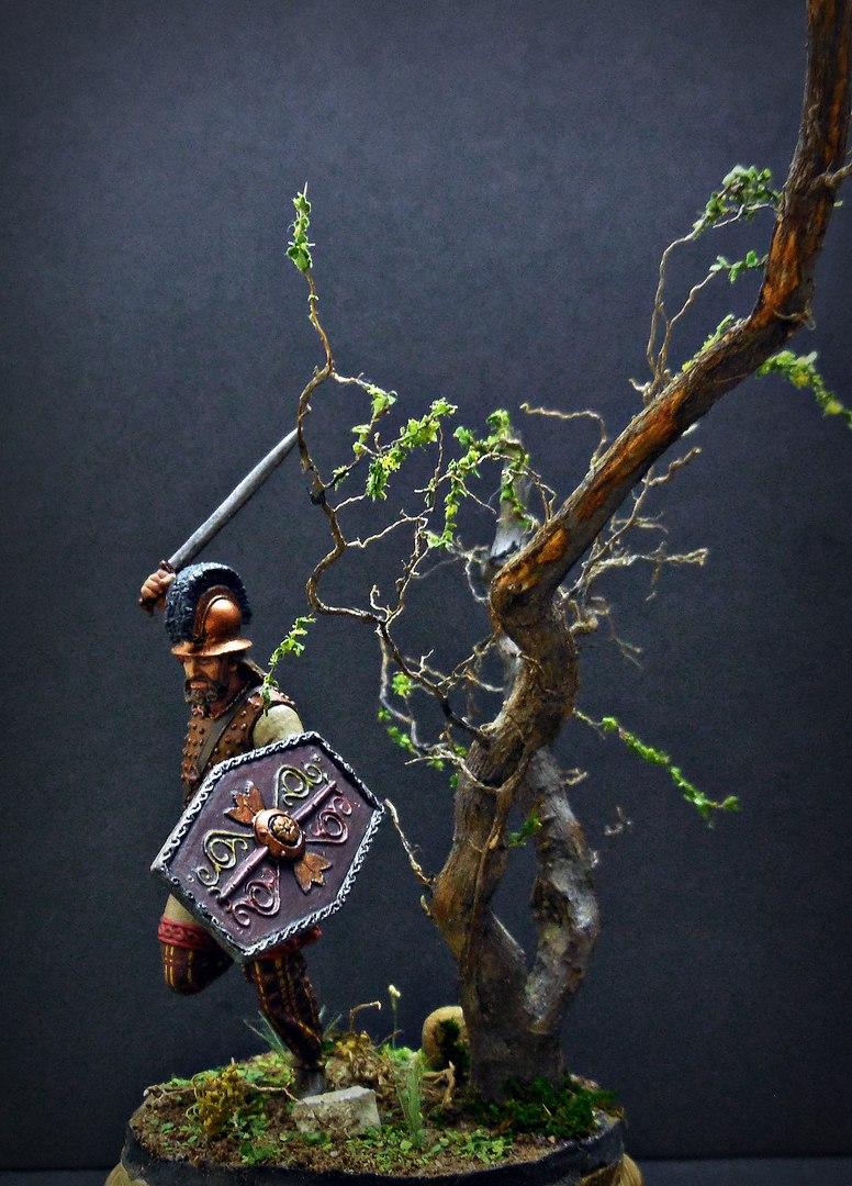 Figures: Gallic warrior I A.D., photo #3