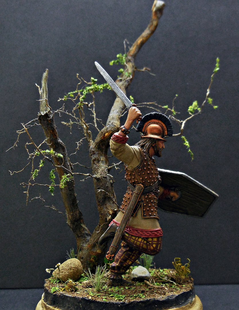 Figures: Gallic warrior I A.D., photo #5