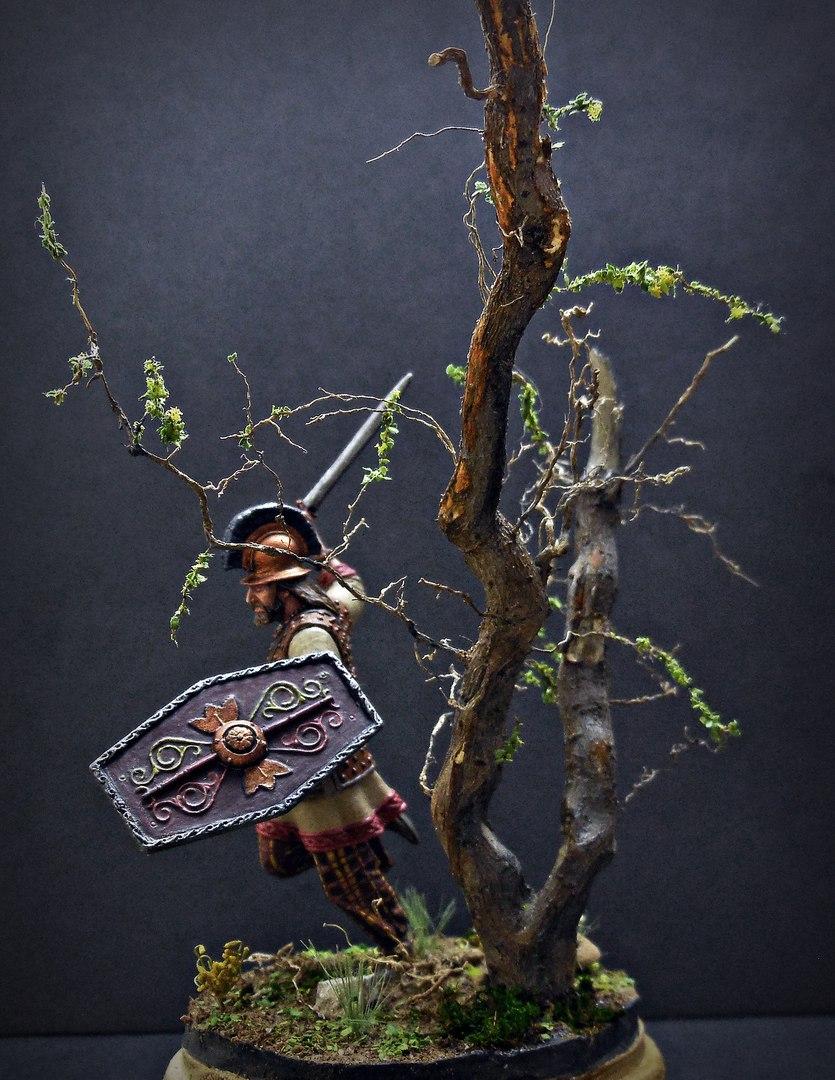 Figures: Gallic warrior I A.D., photo #7