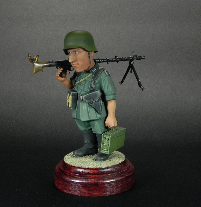 Miscellaneous: Machine gunner Meyer, photo #1