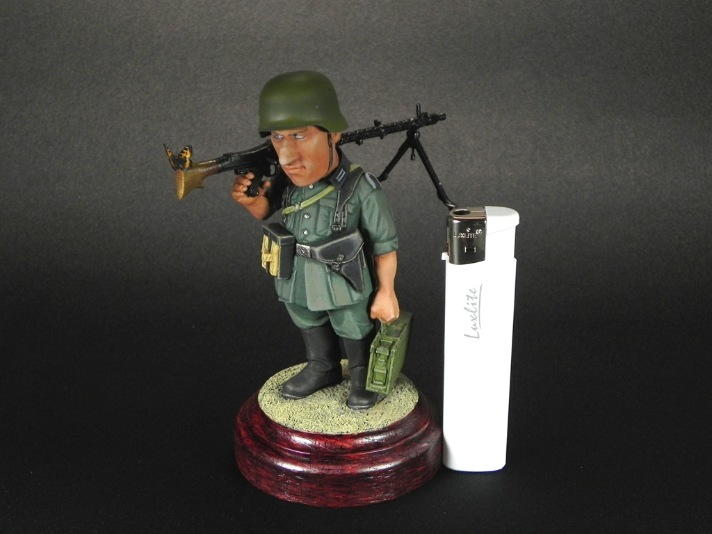 Miscellaneous: Machine gunner Meyer, photo #2
