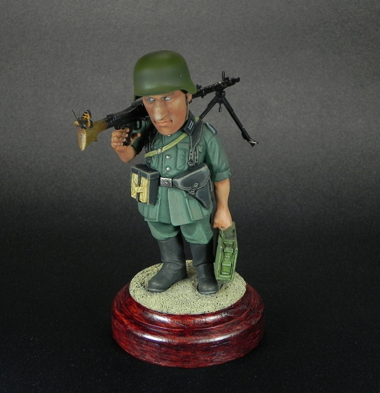 Miscellaneous: Machine gunner Meyer, photo #3