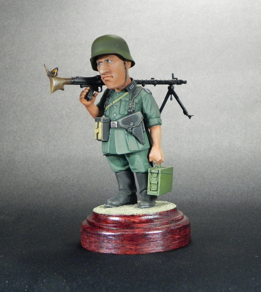 Miscellaneous: Machine gunner Meyer, photo #6