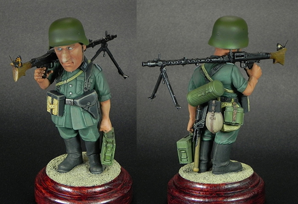 Miscellaneous: Machine gunner Meyer