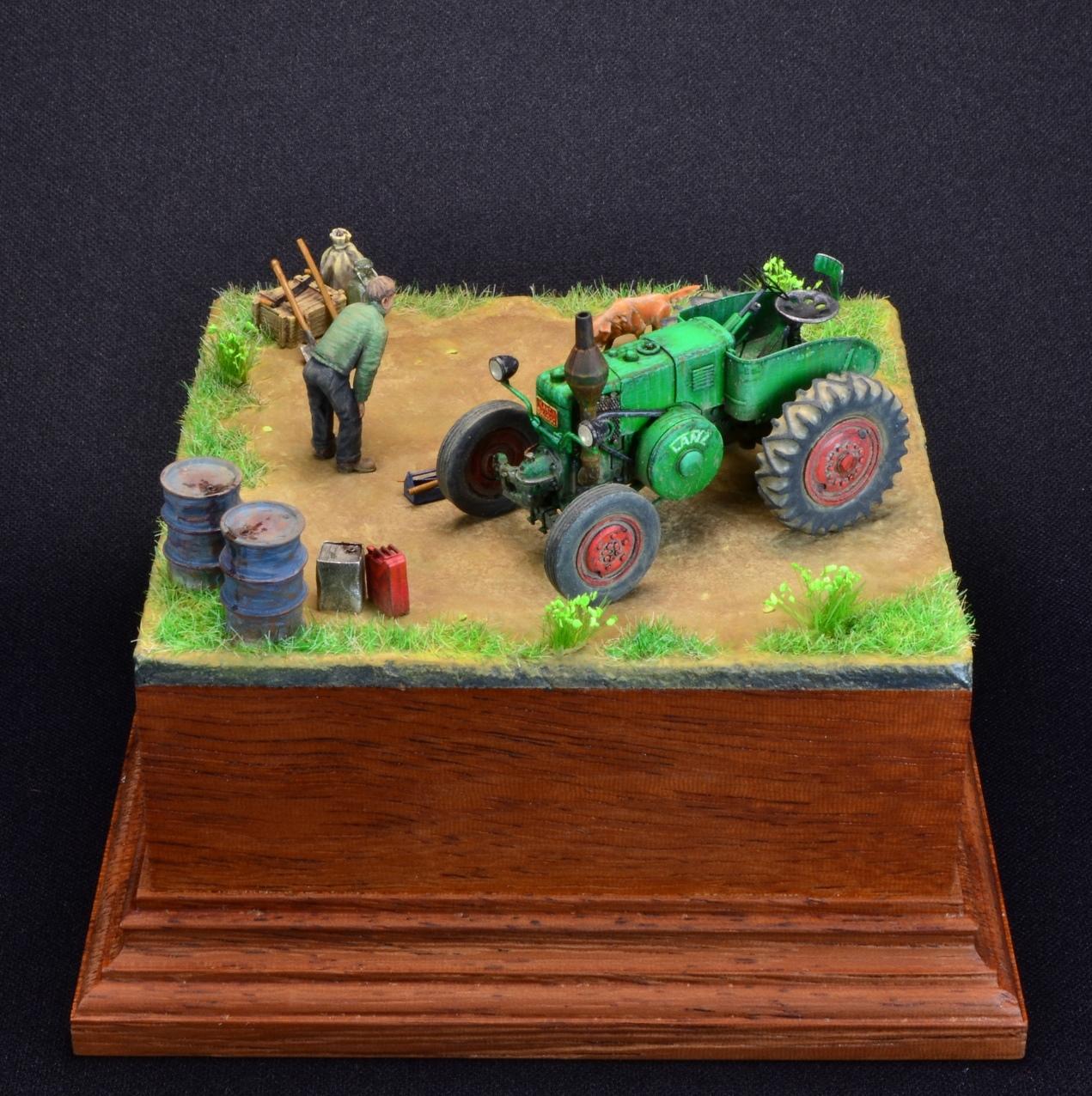 Dioramas and Vignettes: LANZ Bulldog 30HP, photo #4