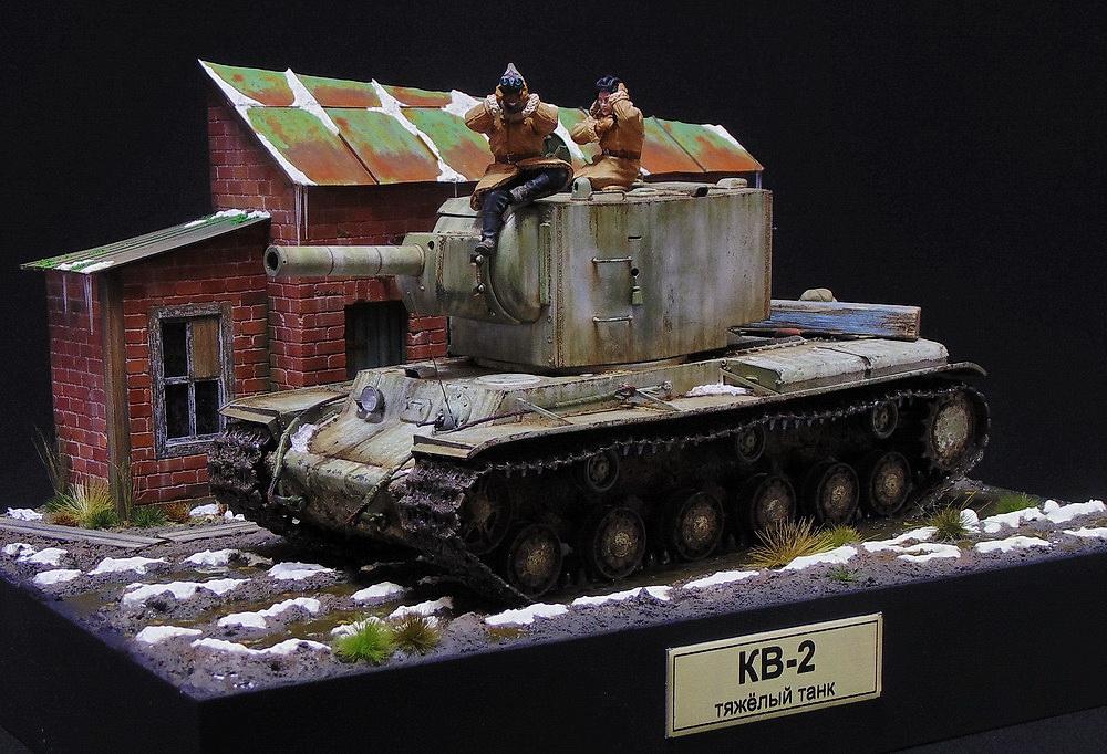 Dioramas and Vignettes: KV-2, photo #1