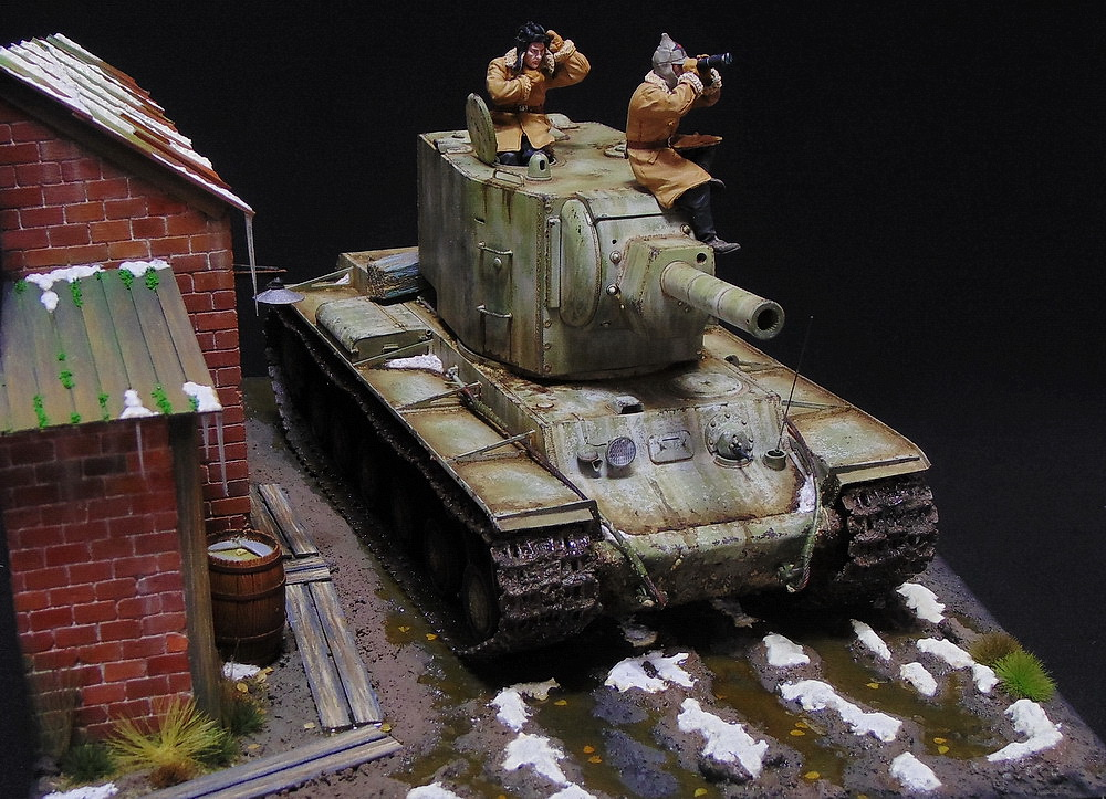 Dioramas and Vignettes: KV-2, photo #10