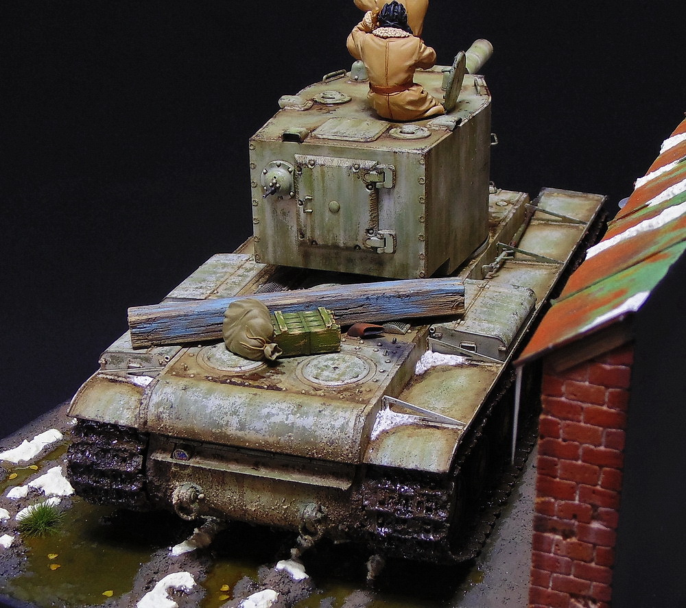 Dioramas and Vignettes: KV-2, photo #11