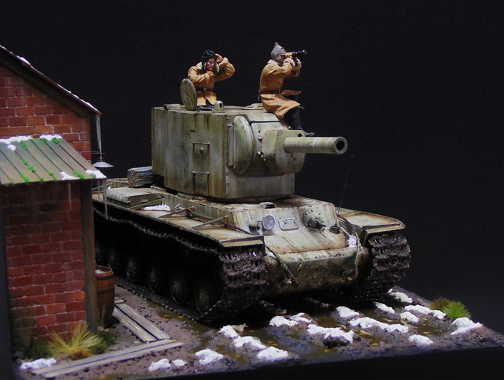 Dioramas and Vignettes: KV-2, photo #12