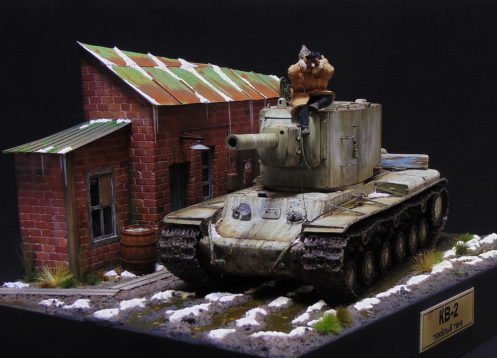Dioramas and Vignettes: KV-2, photo #2