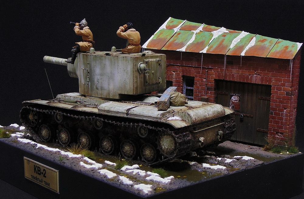 Dioramas and Vignettes: KV-2, photo #3