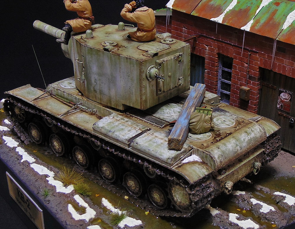 Dioramas and Vignettes: KV-2, photo #4