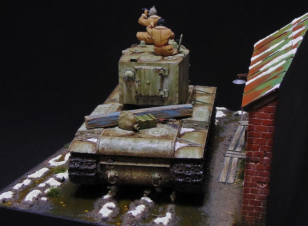 Dioramas and Vignettes: KV-2, photo #5