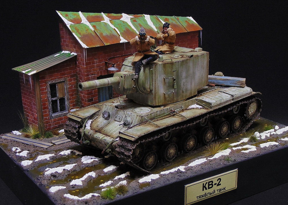 Dioramas and Vignettes: KV-2, photo #6