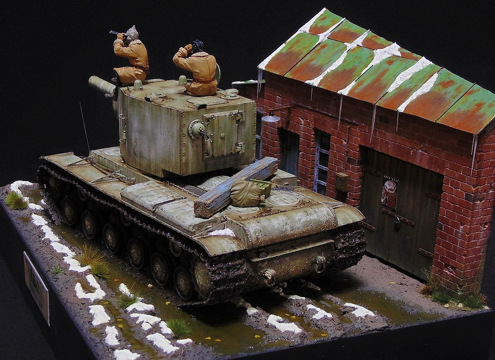 Dioramas and Vignettes: KV-2, photo #7