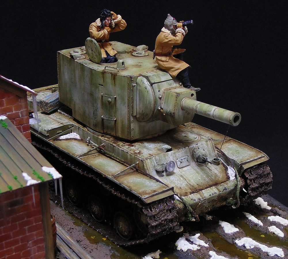 Dioramas and Vignettes: KV-2, photo #8