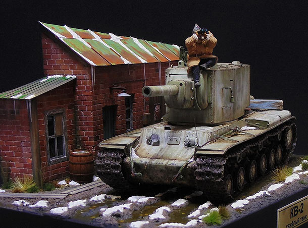 Dioramas and Vignettes: KV-2