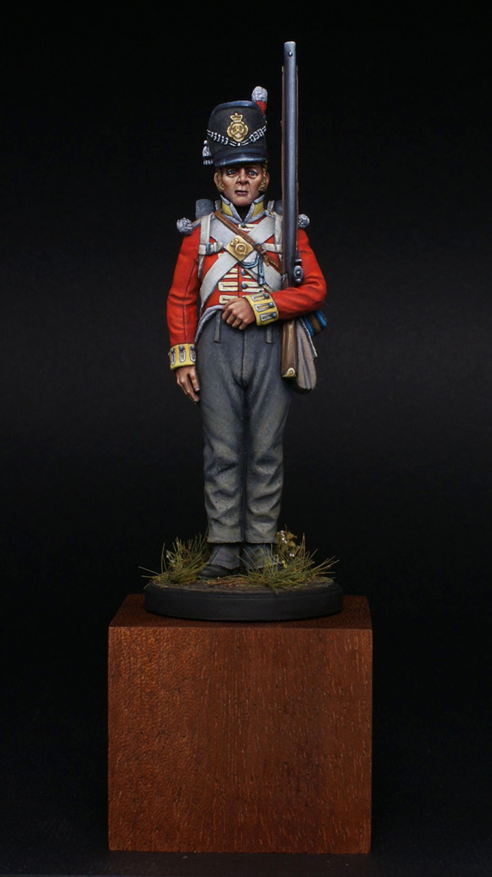 Figures: Private, 44th East Essex regt., photo #1