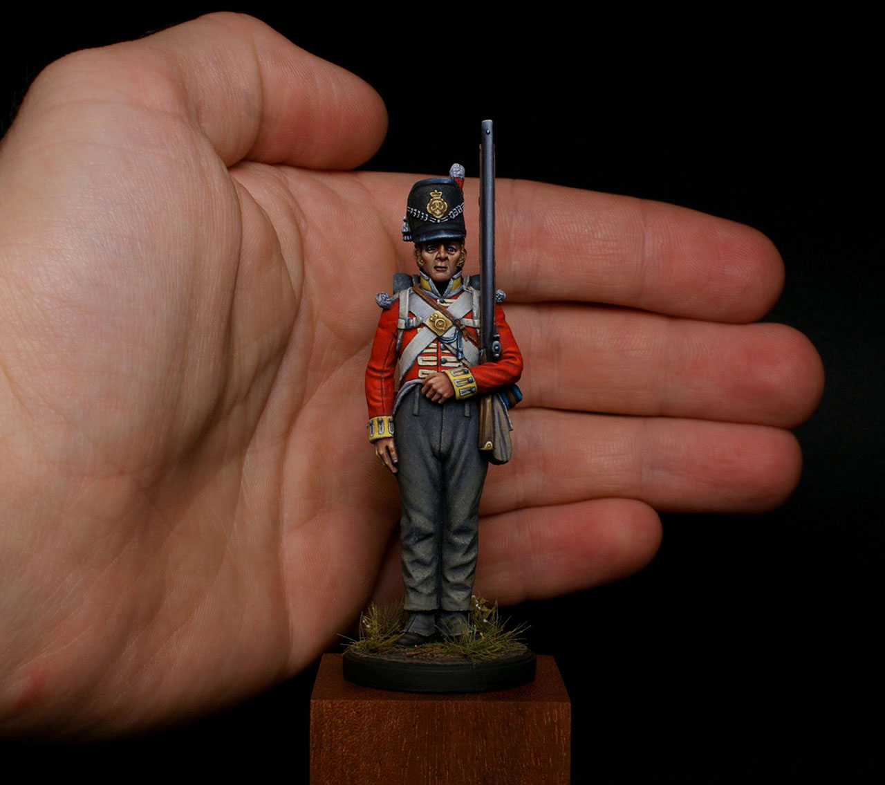 Figures: Private, 44th East Essex regt., photo #8