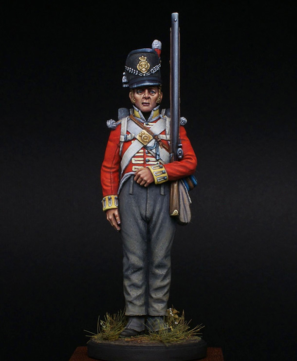 Figures: Private, 44th East Essex regt.