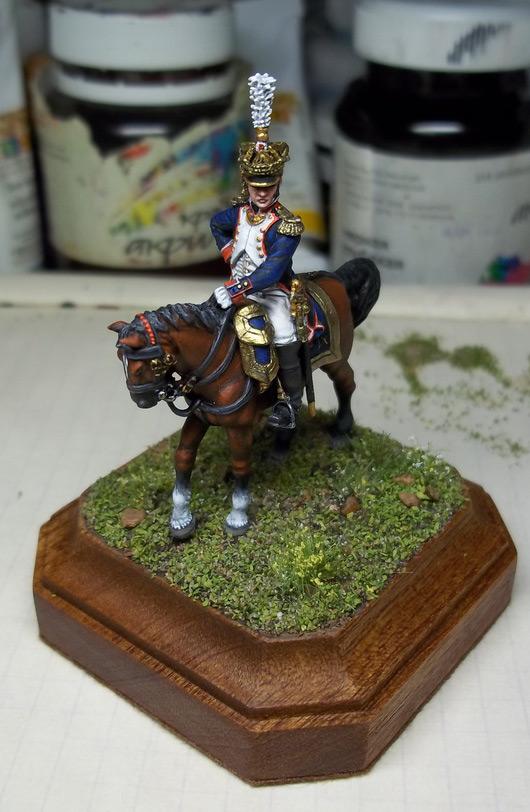 Figures: Chef de bataillon, 4th line infantry, France 1808-13, photo #14