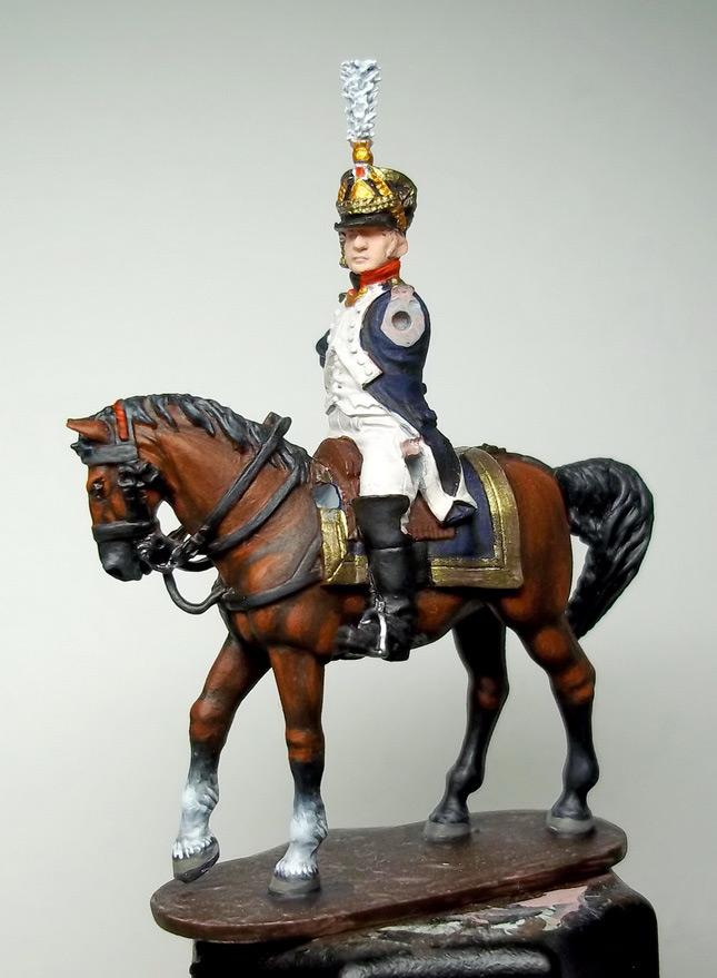 Figures: Chef de bataillon, 4th line infantry, France 1808-13, photo #16