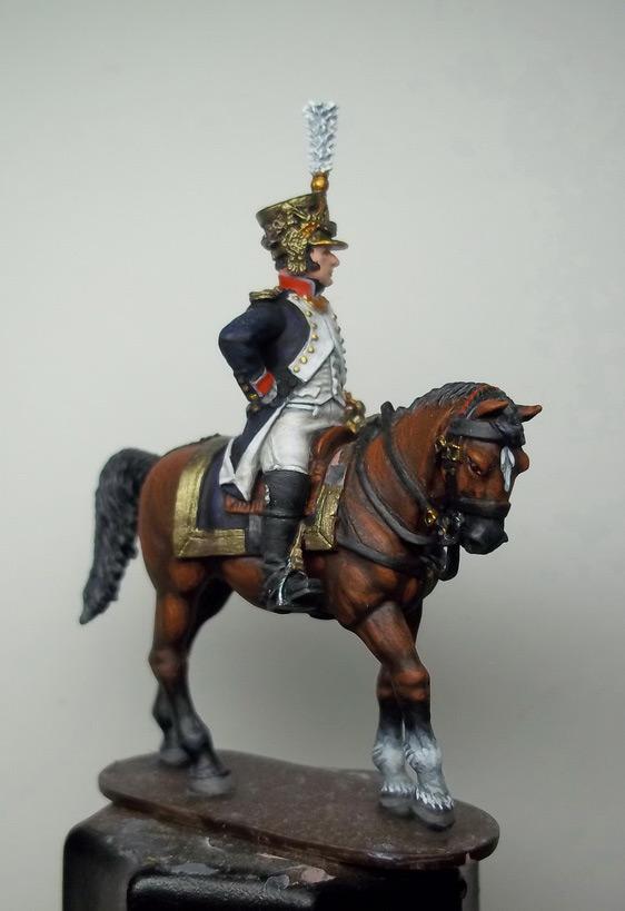 Figures: Chef de bataillon, 4th line infantry, France 1808-13, photo #18
