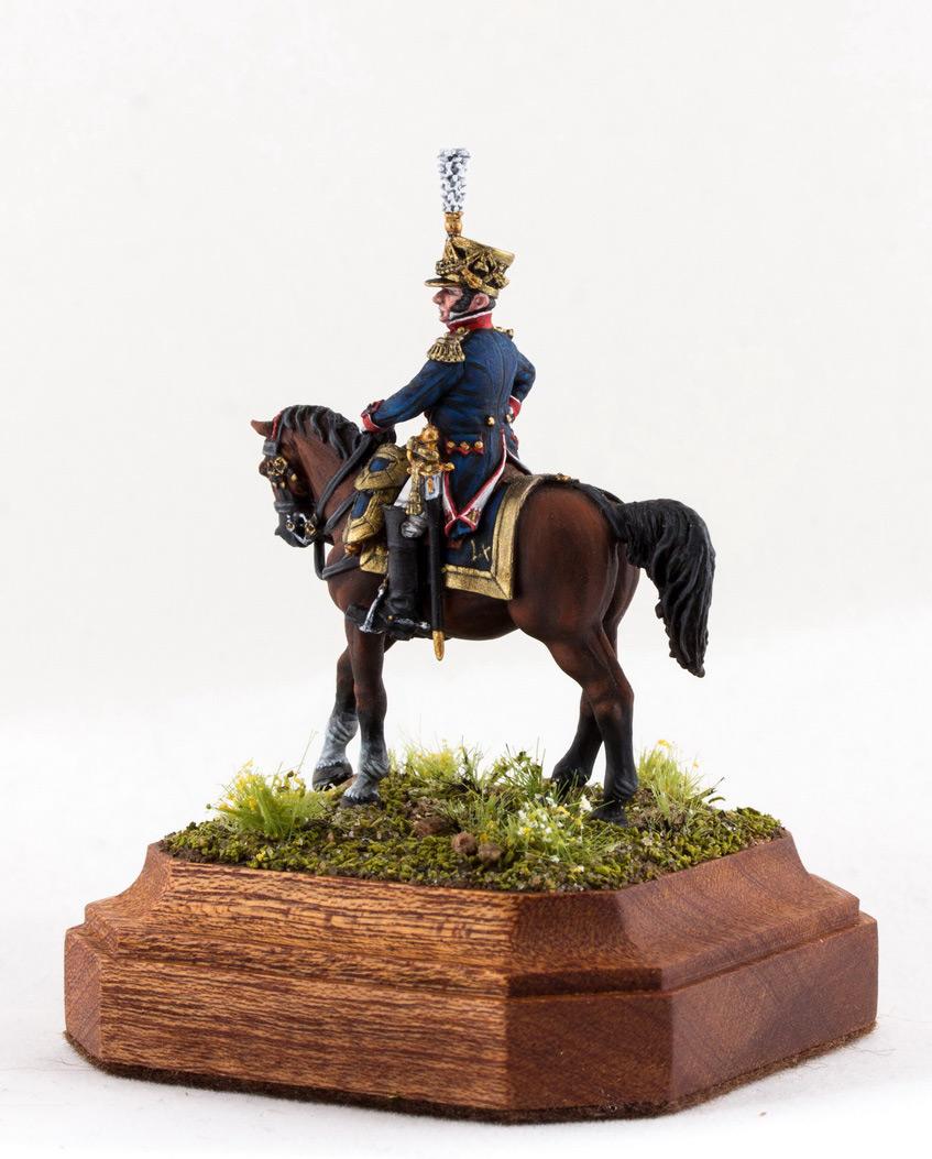 Figures: Chef de bataillon, 4th line infantry, France 1808-13, photo #3