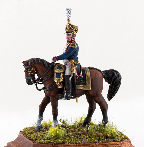 Figures: Chef de bataillon, 4th line infantry, France 1808-13