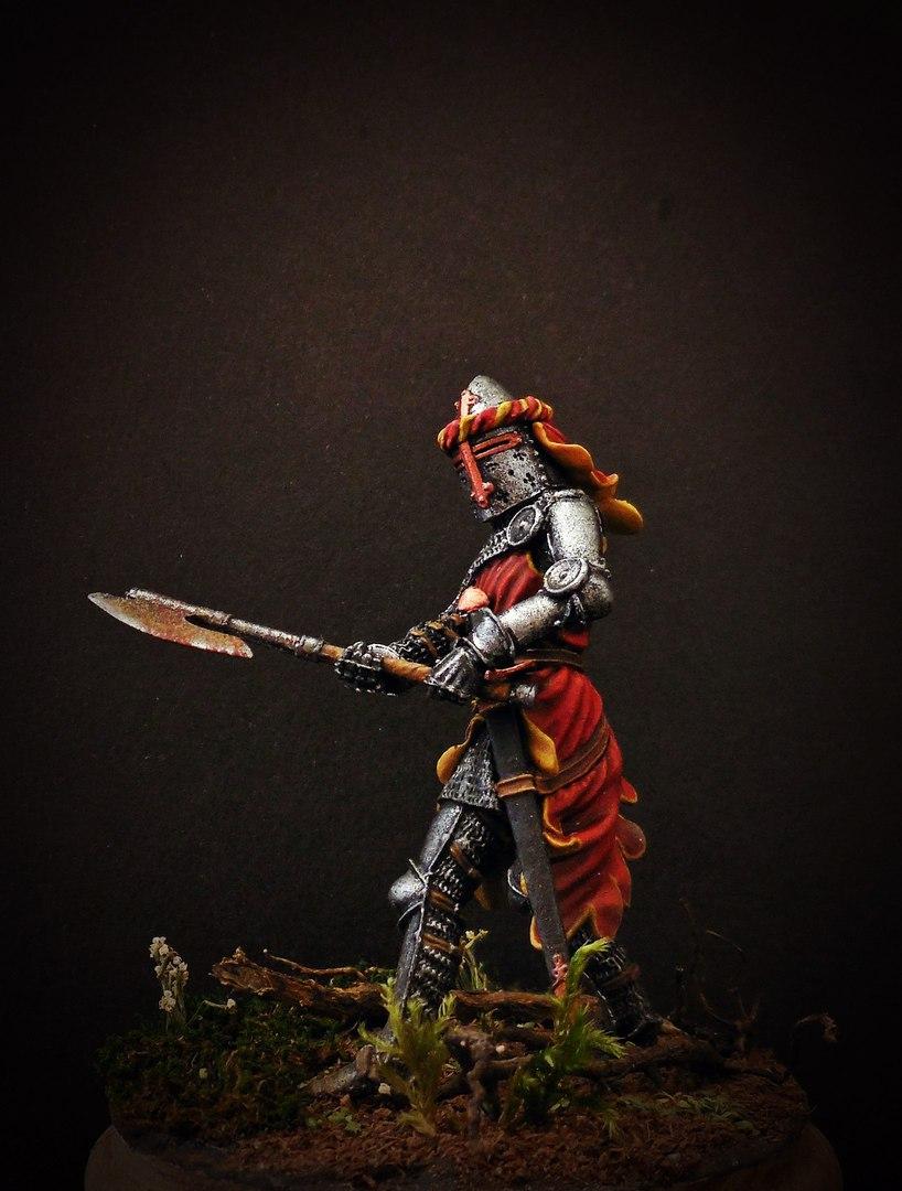 Figures: German knight, 1350-70, photo #2