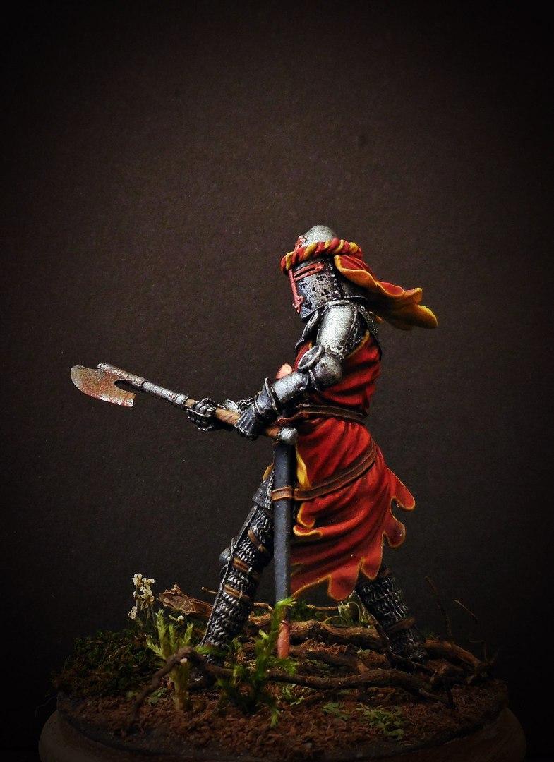 Figures: German knight, 1350-70, photo #8