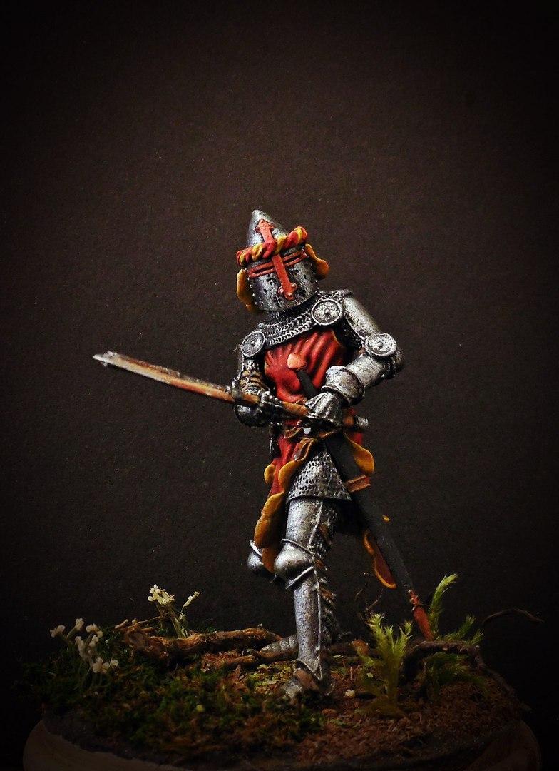 Figures: German knight, 1350-70, photo #9