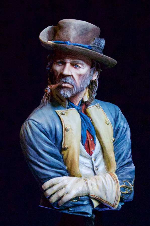 Figures: Confederate officer, photo #1