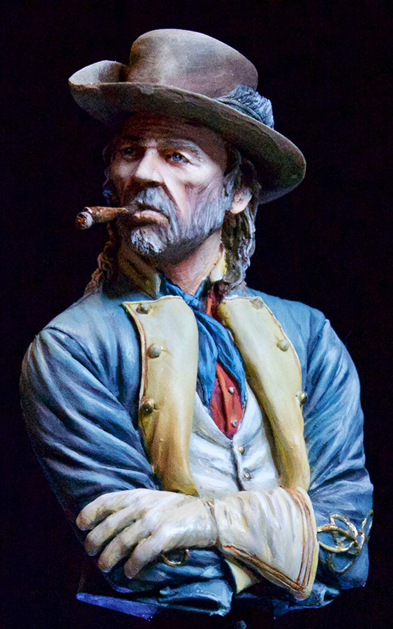 Figures: Confederate officer, photo #11