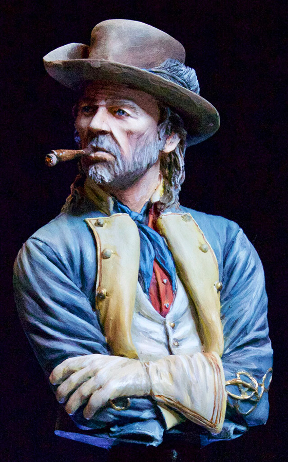 Figures: Confederate officer, photo #5
